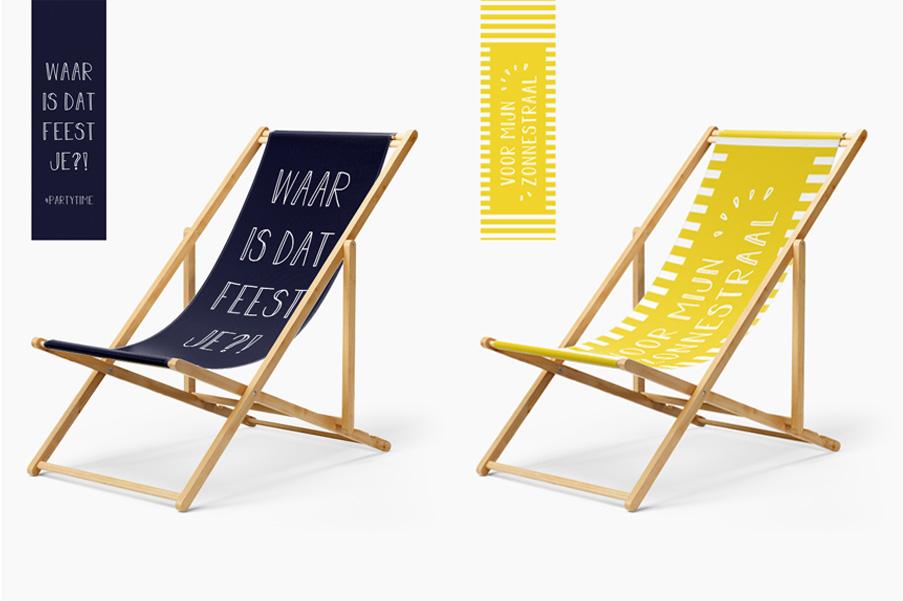 Strandstoelen Geslaagd