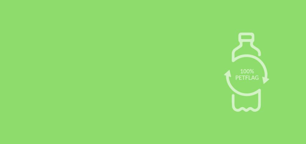 Ga voor GROEN: 10% korting op ECO mastvlaggen